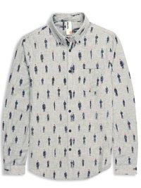 Plectrum Spirit Of Union Print Double Cloth Shirt