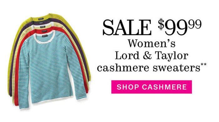 Shop Cashmere**