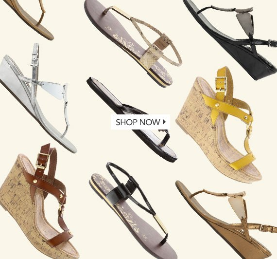 Shop our entire collection of sandals!