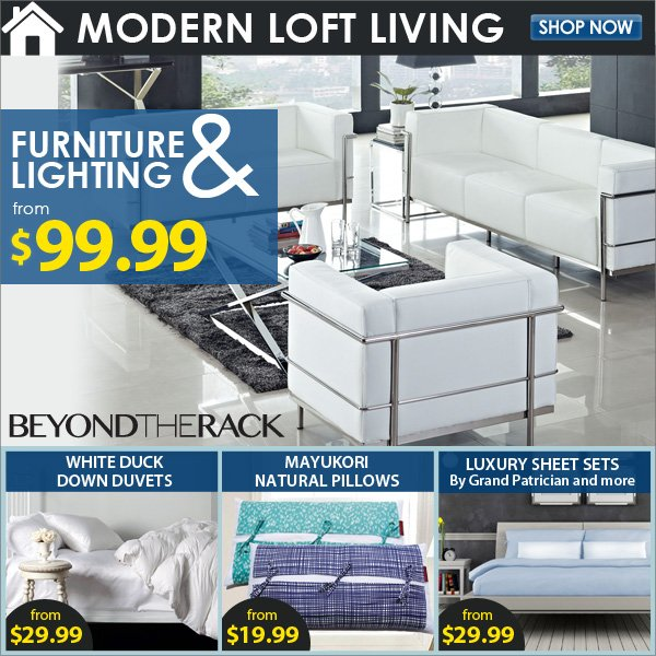 Furniture & Lighting from 99.99