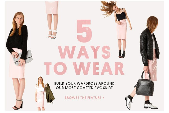 5 ways to wear - Browse the feature