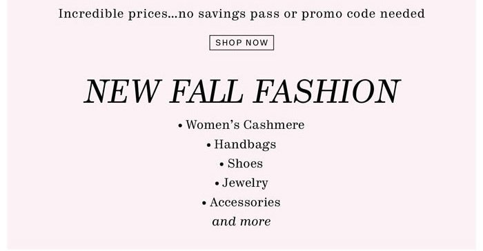 shop now incredible prices