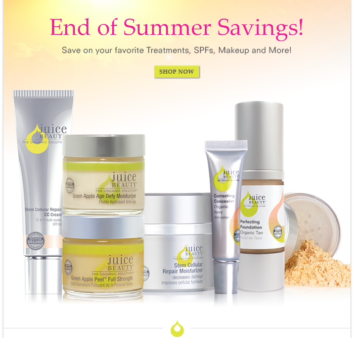 Save on your favorite Treatments, SPFs, Makeup and More!