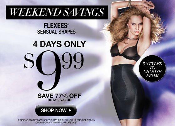 Last Day for Savings - $9.99 Sensual Shapes!