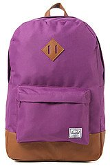 The Heritage Backpack in Purple