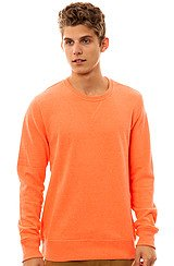 Hurley Brights Sweatshirt in Heather Neon Orange