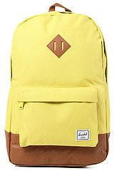 The Heritage Backpack in Lime Punch