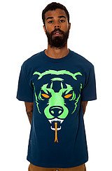 Mishka Oversize Adder Tee in Blue