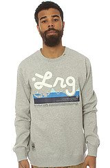 LRG Core Collection Sweatshirt in Ash Heather
