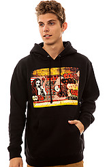 Obey X Cope2 Poster Hoody in Black