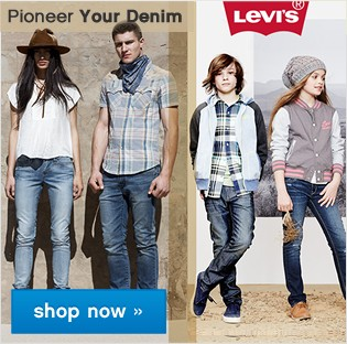 Levi's® Pioneer your denim. Shop now.