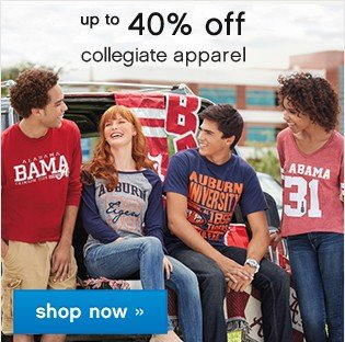 College Inspired, Campus Approved. Explore the college shop.