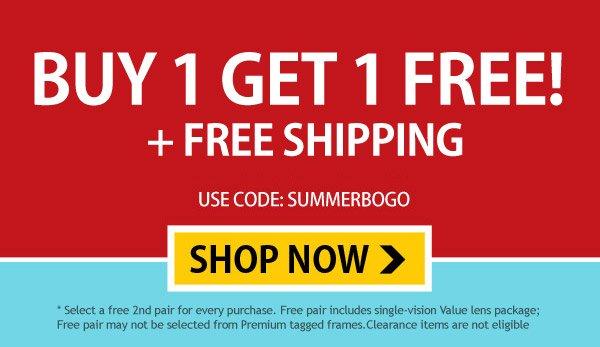 Buy 1 Get 1 FREE +Free Shipping!