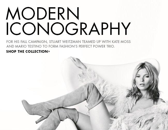 Stuart Weitzman + Kate Moss for Fall