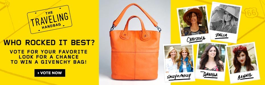 Vote for a Chance to Win a Givenchy Bag