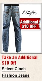 Select Cinch Fasion Jeans