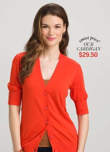 Smart Price! Our Cardigan $29.50