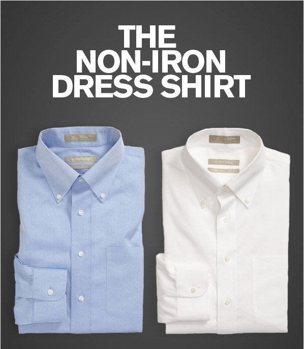 THE NON-IRON DRESS SHIRT