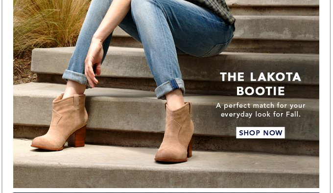 The Lakota Bootie