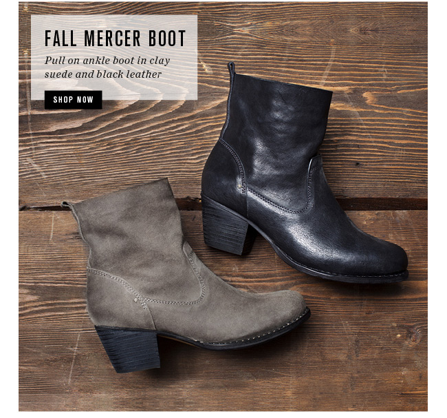 Fall Mercer Boot | Shop Now
