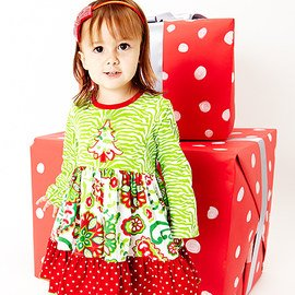 Holly Jolly: Girls' Apparel & Accents
