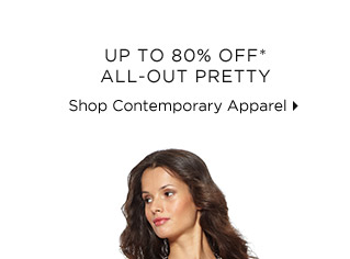 Up To 80% Off* All-Out Pretty