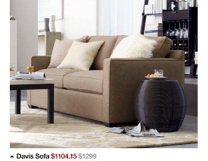 Davis Sofa $1104.15 $1299
