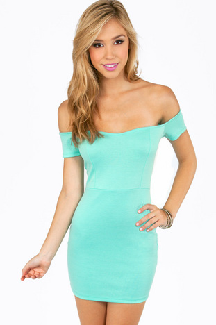 OFF MY SHOULDERS MINI DRESS 22