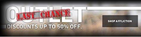 Outlet Last Chance - Shop Affliction