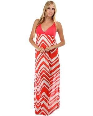 Rachel Kate Chevron Print Dress Made in USA