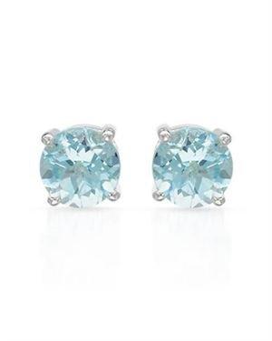 Ladies Topaz Earrings Made Of 925 Sterling Silver