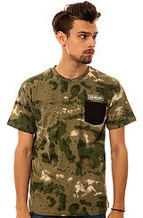 The Thieves Pocket Tee in French Camo