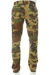 Obey Layover Chino Pants in Field Camo