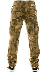 The Thieves Surplus Pants in French Camo