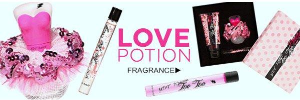 LOVE POTION! Shop Fragrance