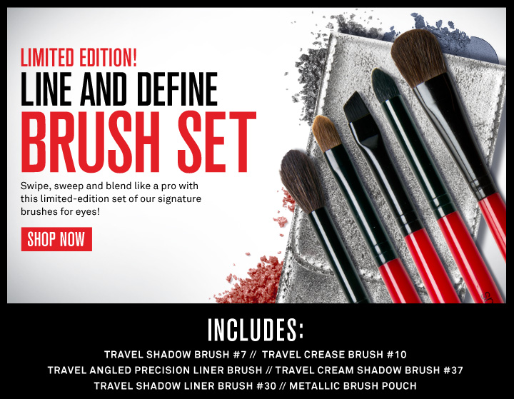 Limited Edition! Line & Define Brush Set