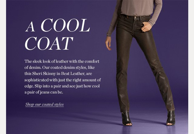a Cool Coat | Shop our coated styles!