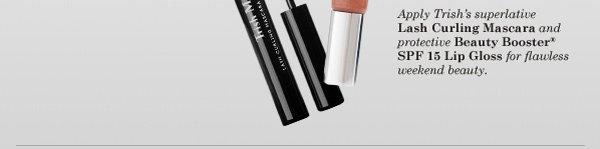 Trish McEvoy Lash Curling Mascara & Beauty Booster® SPF 15 Lip Gloss