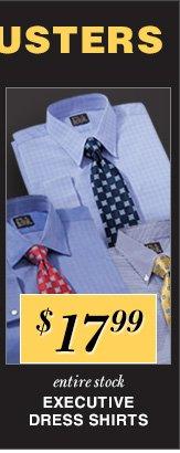 $17.99 USD - Executive Dress Shirts