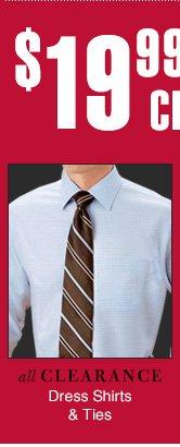 $19.99 USD - Clearance Dress Shirts & Ties