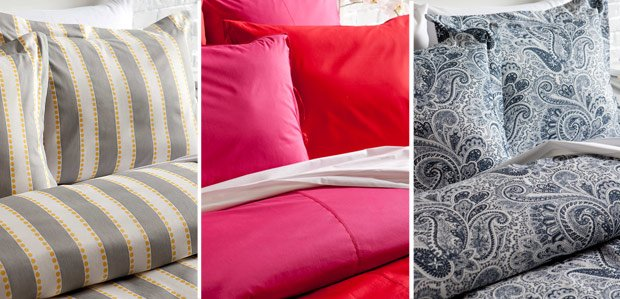 Refresh the Bed: In Grey, Berry, & Blue