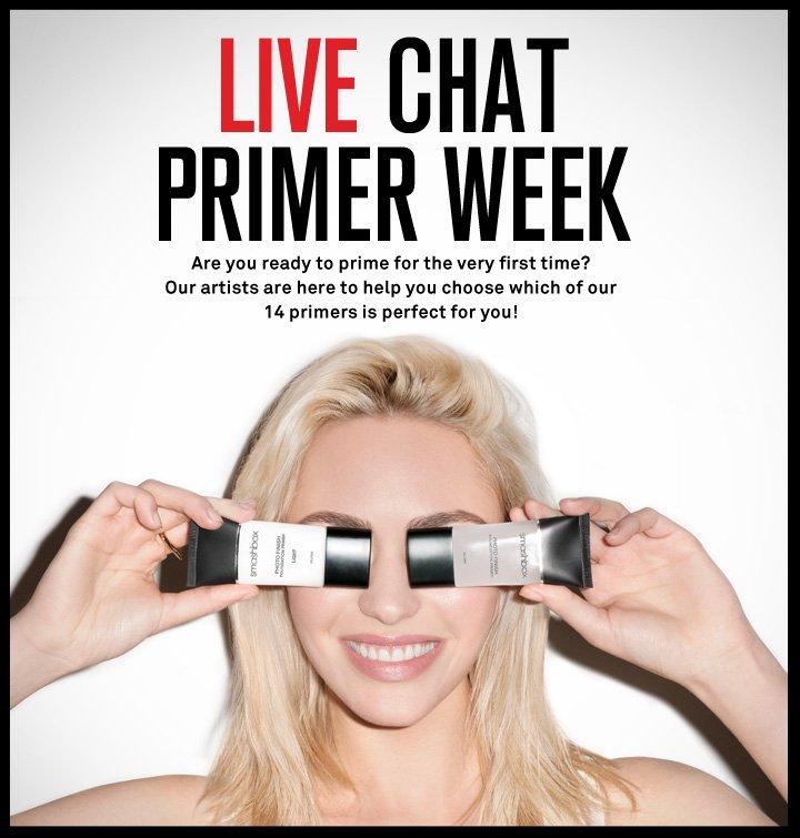 Live Chat Primer Week