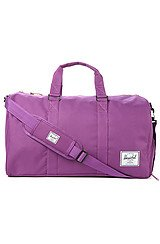 The Novel Duffle Bag in Purple