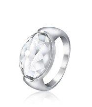 Vanilla Crystal Ring
