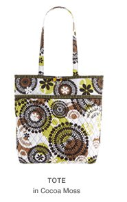 Tote in Cocoa Moss
