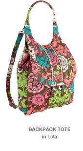 Backpack Tote in Lola