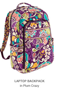 Laptop Backpack in Plum Crazy