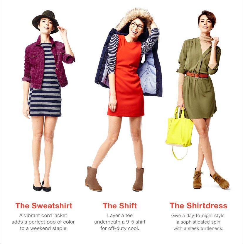 The Sweatshirt | The Shift | The Shirtdress