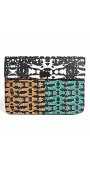 Clutch Bag In Digital Print