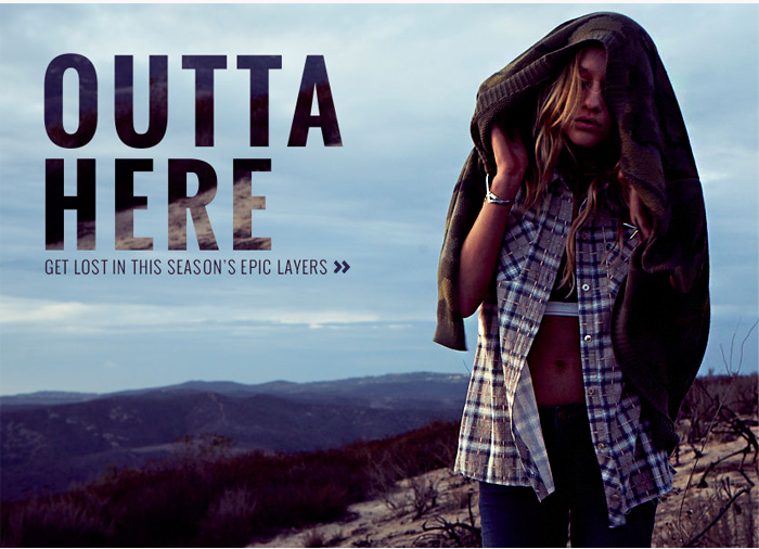 Outta here - Get lost in this season's epic layers
